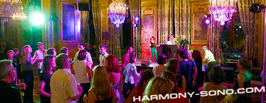 DJ LIVE ( dj + musiciens ) - Orchestre de variété - Hôtel de Ville de Paris