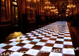 Soirée disco : location piste de danse disco avec changeur de couleurs