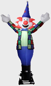 Figure gonflable : clown