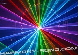 Show laser couleur show laser multicolore projecteur laser pour soir e lazer rgb rvb for Projecteur laser multicolore