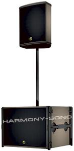 Location mat�riel sonorisation pour concert, spectacle : Location enceinte L-Acoustics 12XT ou 112P avec caisson de basse L-Acoustics SB18 + ampli LA4x