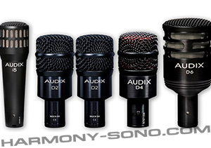 Location micro Audix I5, D2, D4, D6 ( Kit DP5a )