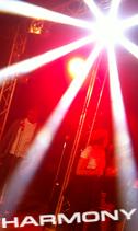 Location projecteur LED, Martin - Mac-Aura et effet Sharpy, Martin - Rush Beam